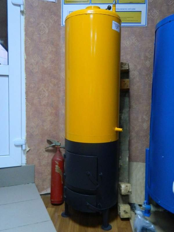 "Buy Boiler potbelly stove on firewood ""Titan"". Delivery across Ukraine, payment after receiving."
