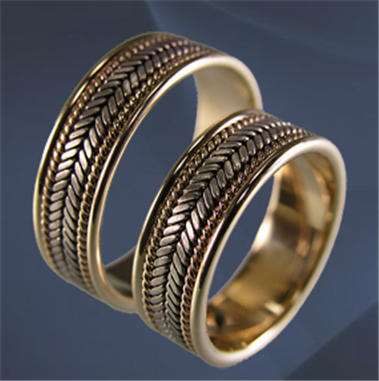 Купити Кільця заручні золото Au 585° проби класу Люкс b6639a6be1897