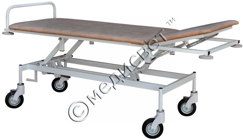Купить Тележка для транспортировки пациента с регулировкой высоты ТПБР