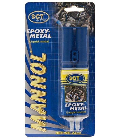 Купити Клей двухкомпонентний Mannol метал 30 гр