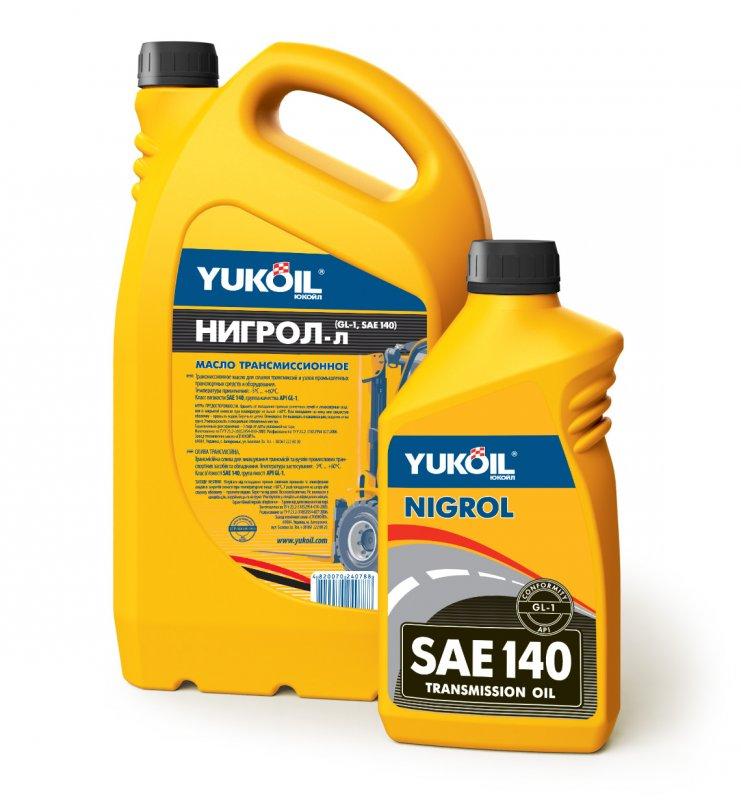 Купити Олива трансмісіонна Yukoil Нігрол-Л SAE 140 API GL-1 Ведрпо 20л