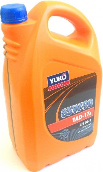 Купить Масло трансмисионное Yukoil ТАД-17а SAE 85W-90 GL-4 Каністра 1л