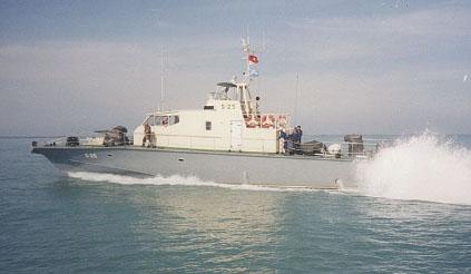 Патрульный катер КОНДОР быстроходный: патрулирование морских прибрежных районов, выполнение задач полицейской, таможенной и рыбоохранной службы