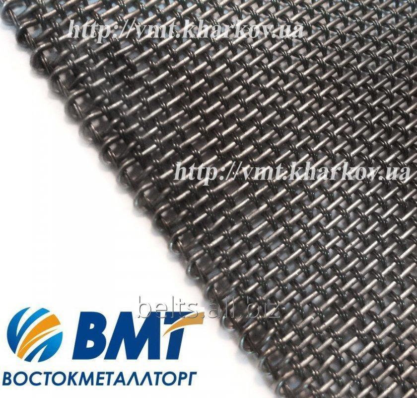 Buy Wire-mesh conveyor 0,8h0,8 mm TU 14-4-460-88
