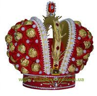 Подарки элитные: Короны из конфет и  Рояль из конфет