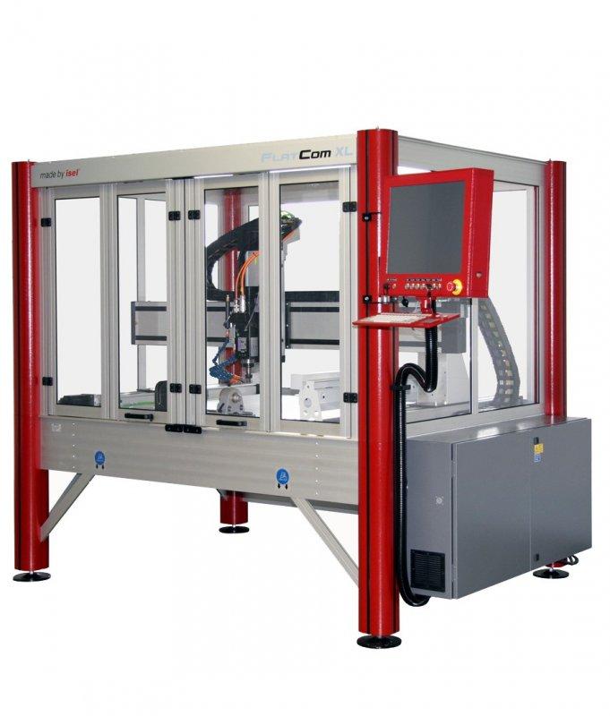 Купить Фрезерно-гравировальный станок 3D CNC, Isel (Германия) - FlatCom XL
