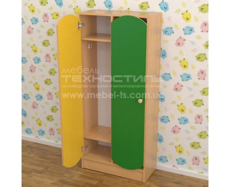 Шкаф в раздевалку (620х250х1250 мм)