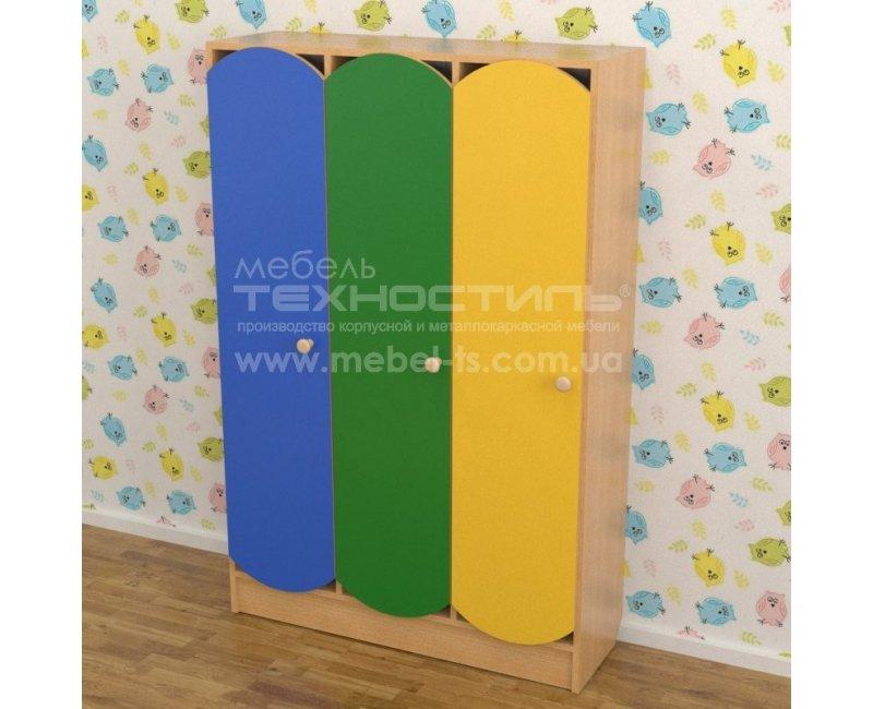 Шкаф для раздевалки (3 секции)