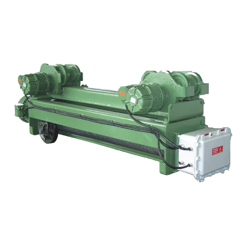 Waist electric rope explosion-proof (electric waists of VBI) the VHVAT series - the polyspast 2/1