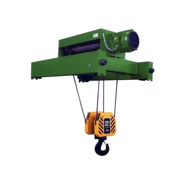 Тали электрические канатные взрывобезопасные (электрические тали ВБИ) серии VKVATF - полиспаст 4/1