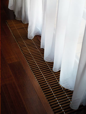 Покрытия напольные  из натуральной древесины. Половая доска, плинтус Bosco.