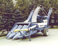 Corn-picker combines