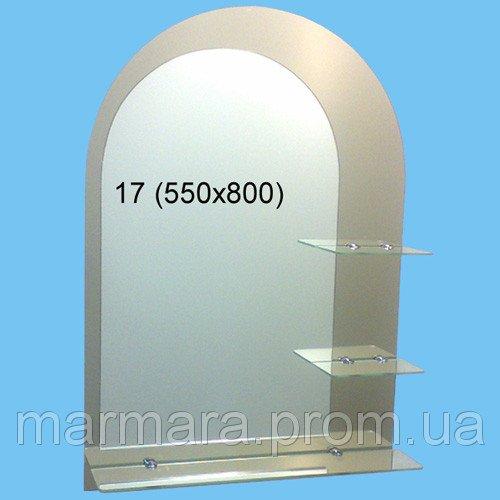 Купить Зеркало в ванную комнату Профиль 17 1542