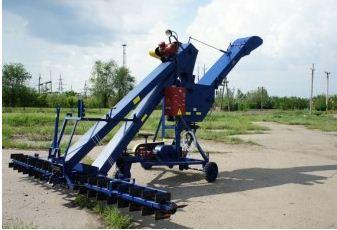 Зернометатель ЗЗП-60 с дополнительным редуктором