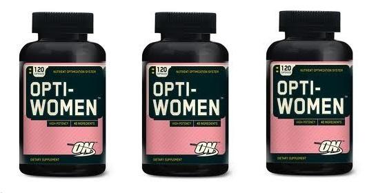 Купить Витаминный комплекс для женщин Optimum nutrition Opti-Women 120 таб