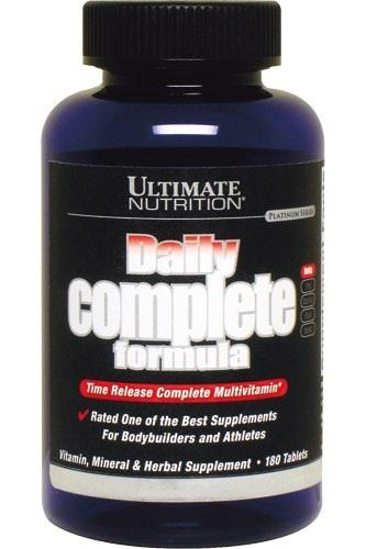 Купить Витамины и минералы Ultimate Nutrition DAILY COMPLET FORM, 180 капс.