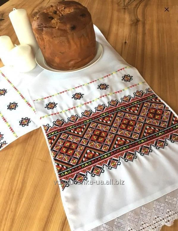 "Buy Embroidered towels, Wedding towels ""Ukrainian cross №1"""