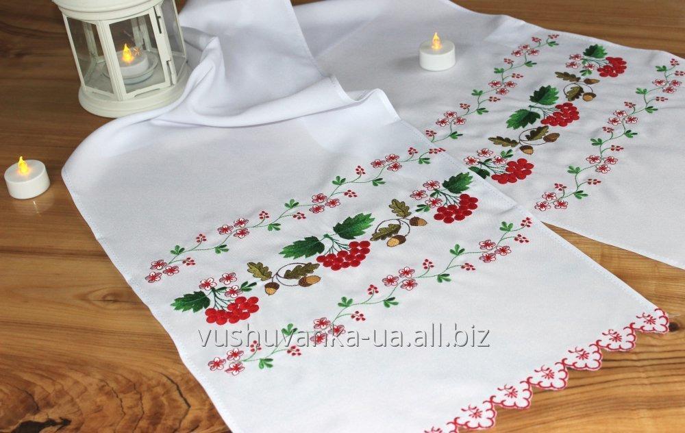 "Buy  Embroidered towels ""Kalina, oak"""