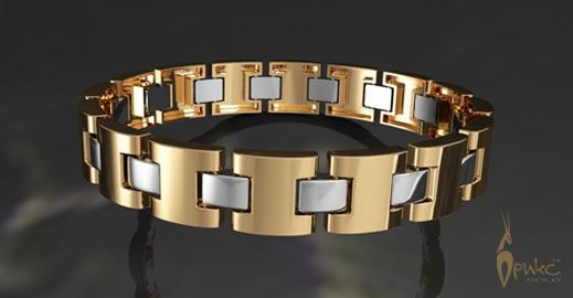 Браслет с бриллиантами золото 585 пробы