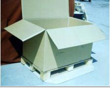 Купить Пятислойный картонный короб, 1100х750х700мм