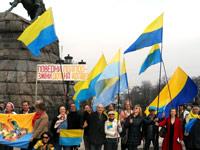 Рекламные флаги для демонстраций и акций