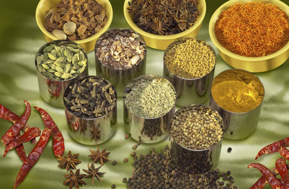 Купить Специи органические и пряности натуральные