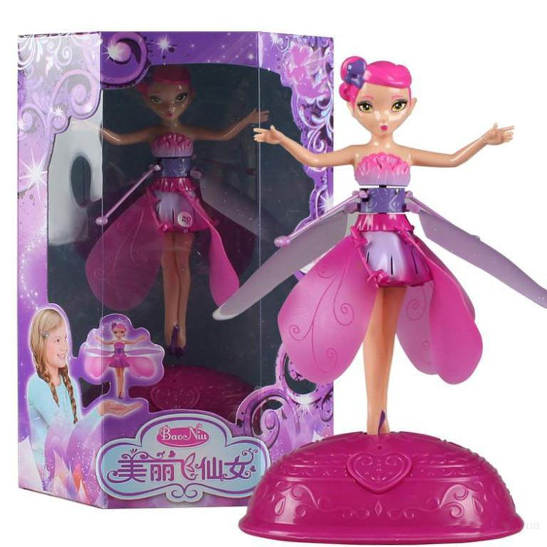 Игра девочек летающая фея