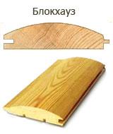 Блок-хаус деревянный, сосновый для каркасных домов - unit house Ukraine.