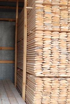 Блок-хаус деревянный, сосна - frame house, Ukraine.