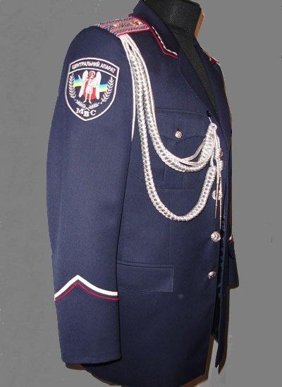 Форма МВД, МВС форма Костюм форменный, парадный Китель, брюки для старшего офицерского состава