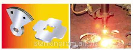 Изделия выполненные на Станках плазменной плазменно-автогенной и лазерной резки металла, пр-во Институт Укроргстанкинпром