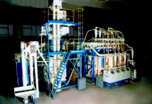 Production line of grain from a buckwheat and Harkovchanka-500KG mille