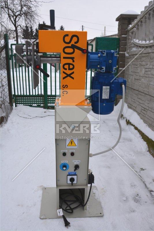 Купить Зиговочный станок электрический Sorex CWM - 50\200