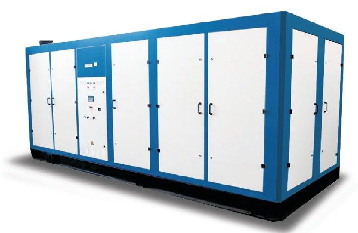 Compressor BB-100/8 installation