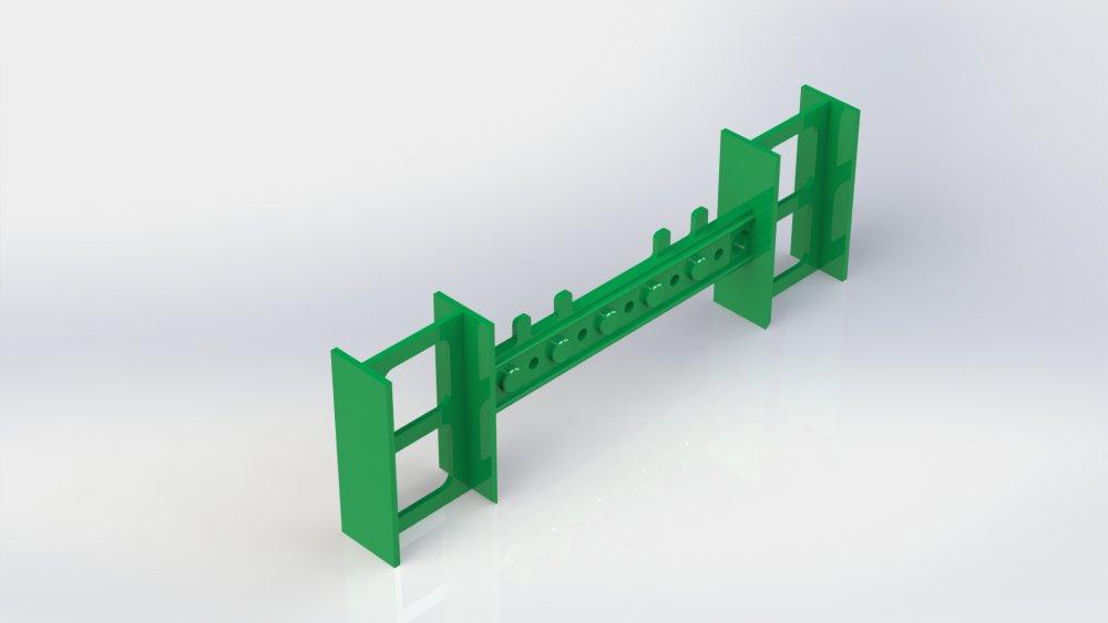 Регулируемая пластиковая перемычка для опалубок, разборного термоблока, комблока.