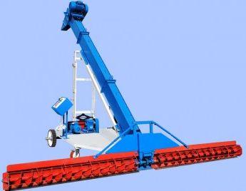 Самоходный шнеково-скребковый зернопогрузчик ЗС-20
