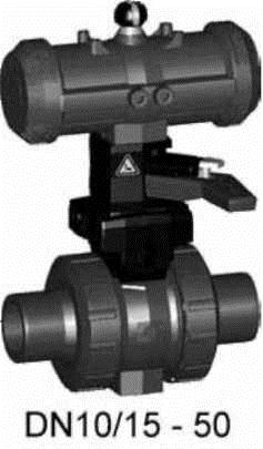 Buy Ball valve type 230, PVC-UFO (normally open)