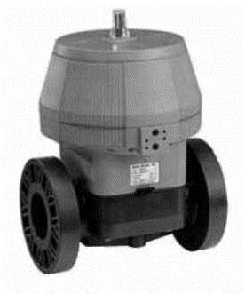 Купить Мембранный клапан тип DIASTAR, PVC-UСерия 025, FC(нормально закрытый) С фиксированными фланцами из PVC-U, метрическими