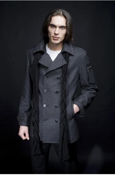 Купить Одежда мужская 1007 стильная модная зимняя оптом. мужское пальто мужские полупальто мужские куртки мужские френчи мужской френч кардиган плащ зимние куртки ветровка дубленка одежда верхняя мужская одежда зимняя одежда