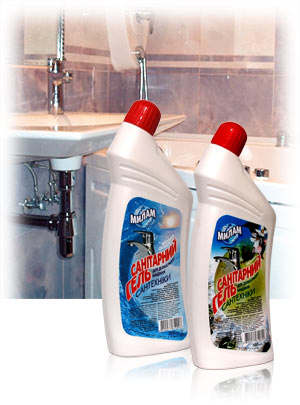 Сантри,  средство для чистки ванны 1,1л