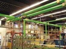 Купить Подвесная однорельсовая система LCS, Грузоподъемность до 2000 кг, пр-во STAHLCraneSystems (Германия)