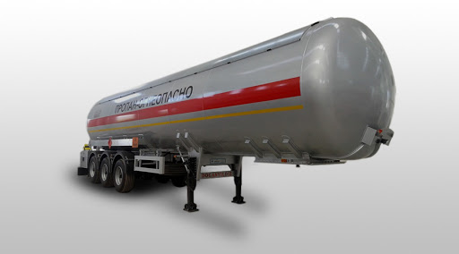 Цистерна для перевозки пропан-бутана объемом 12,5 куб. м.