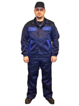 Защитный костюм ЕВРО. куртка с полукомбинезоном или брюками