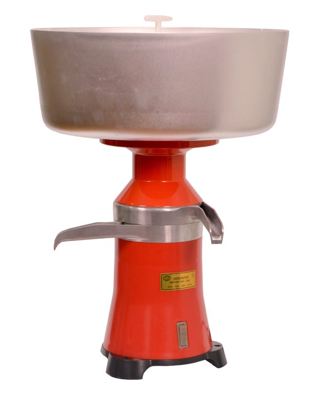 Сепаратор молочный Мотор Сич 100-15, корпус металл и пластик