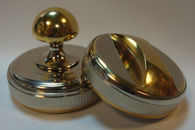 Флэш-оснастка для штампов и печатей метал. RGM/RGMP-3834 золот. (d=38)