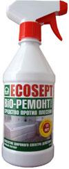 Купить СРЕДСТВО ПРОТИВ ПЛЕСЕНИ (Фунгицид) ECOSEPT Bio Ремонт Spray.Для помещений и фасадов зданий от биопоражений на водной основе