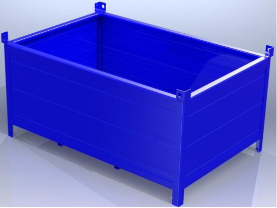 Buy Containers from a metal