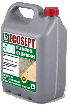 Купить Отбеливатель для древесины. ECOSEPT – 500 -