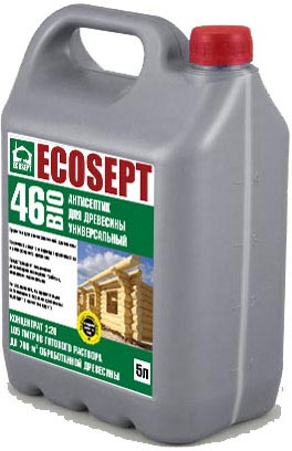 Купить Антисептик для дерева Ecosept – 46 Bio