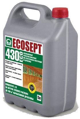 Купить Антисептик консервант не вымываемый. ECOSEPT – 430 ECO .